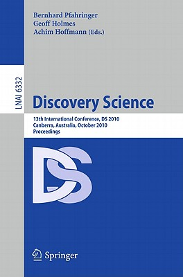 Discovery Science By Pfahringer, Bernahrd (EDT)